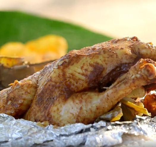 Chàng trai mua hơn 2kg gia vị này để chế biến món gà, ai cũng ngăn cản nhưng cuối cùng cả con gà hết sạch trong 30 giây - Ảnh 6.