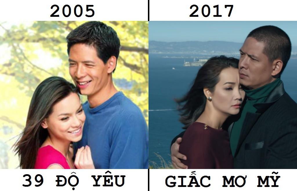 4 sao Việt lừng lẫy này chắc chắn giật mình khi xem lại phim mười mấy