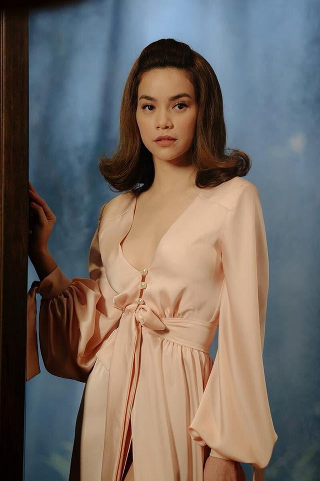 Hồ Ngọc Hà quá tài tình khi biến váy ngủ từ năm ngoái thành váy đi sự kiện sang chảnh - Ảnh 3.