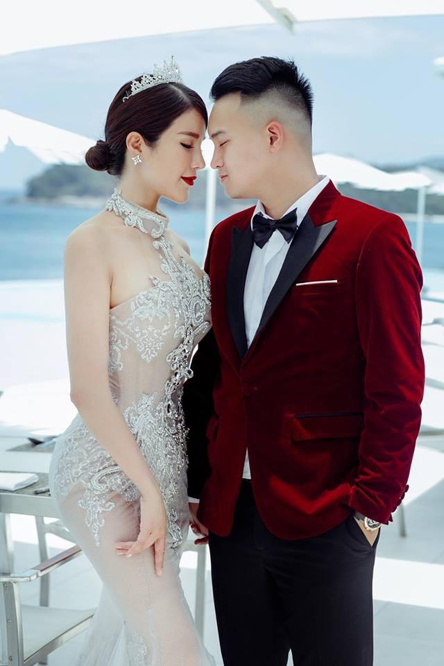 Hậu đám cưới bạc tỉ, Diệp Lâm Anh khoe ảnh cưới ngọt ngào cùng chồng thiếu gia  - Ảnh 1.