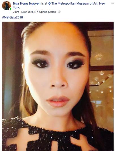 Được mời đích danh bởi hội đồng Met Gala, fashionista Nga Nguyễn trở thành gương mặt Việt Nam đầu tiên xuất hiện trên thảm đỏ đình đám - Ảnh 2.