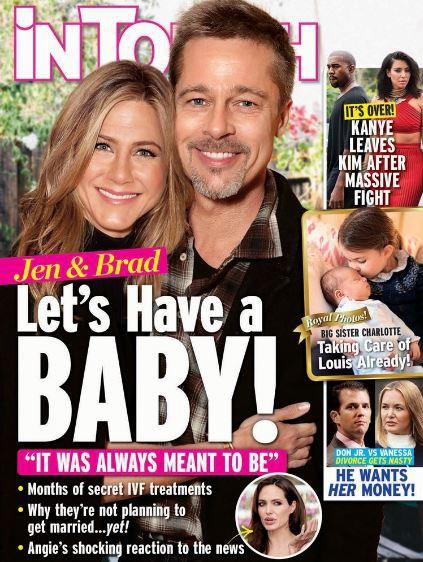 Thực hư chuyện Jennifer Aniston muốn sinh con cho Brad Pitt? - Ảnh 1.
