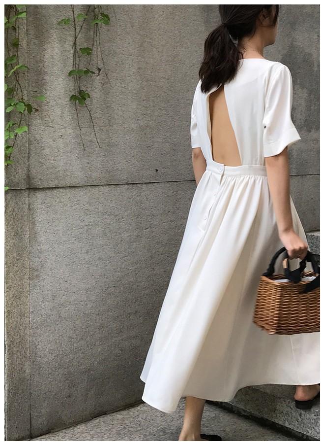 Nữ tính điệu đà mà vẫn sexy hết nấc, hèn gì váy vải hở lưng được con gái Hàn thi nhau diện hè này - Ảnh 13.