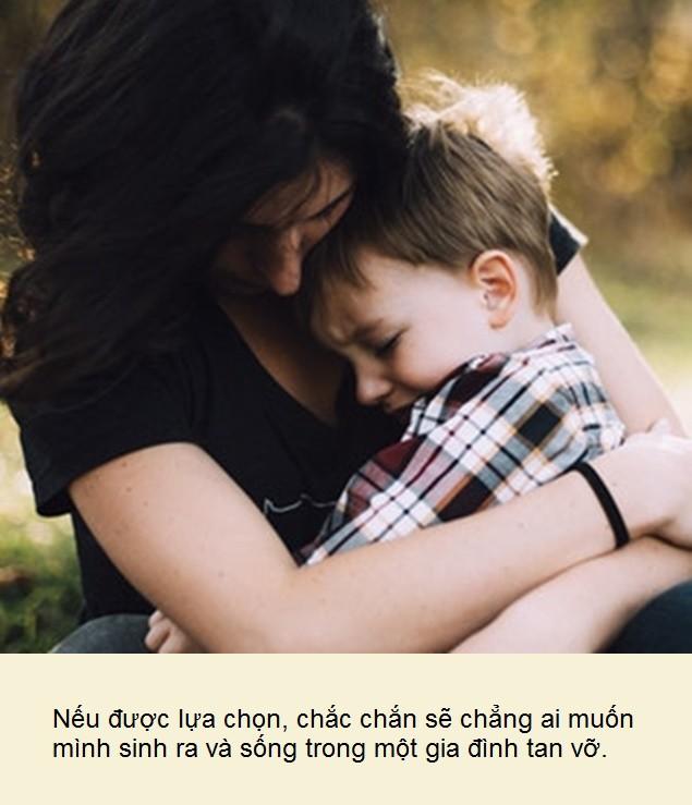 Gia đình tan vỡ, nào đâu chỉ bố mẹ khổ, tổn thương nhất vẫn là những đứa trẻ - Ảnh 1.