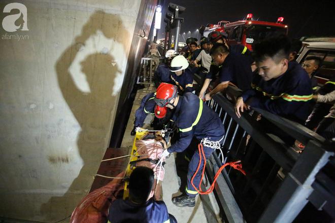 Nam thanh niên thoát chết thần kỳ khi bị rơi từ trên cầu Nhật Tân xuống bãi bồi do đi nhặt flycam - Ảnh 3.