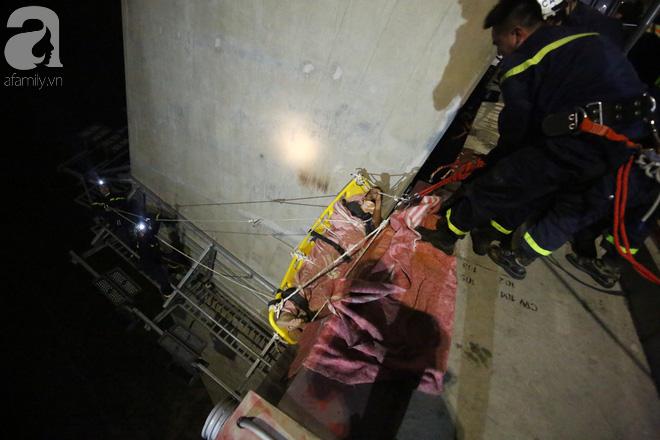 Nam thanh niên thoát chết thần kỳ khi bị rơi từ trên cầu Nhật Tân xuống bãi bồi do đi nhặt flycam - Ảnh 2.
