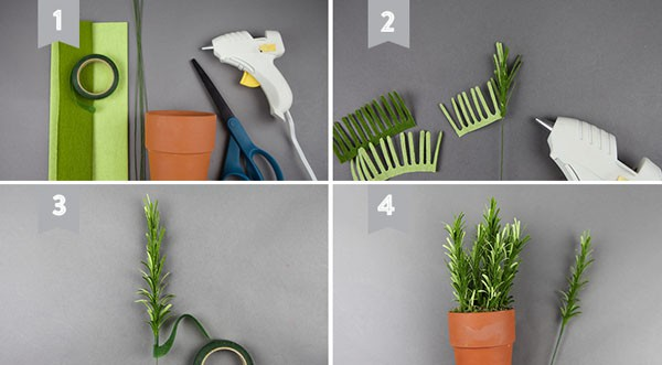 3 cách làm chậu cây xanh mát trang trí góc bếp thân yêu - Ảnh 4.