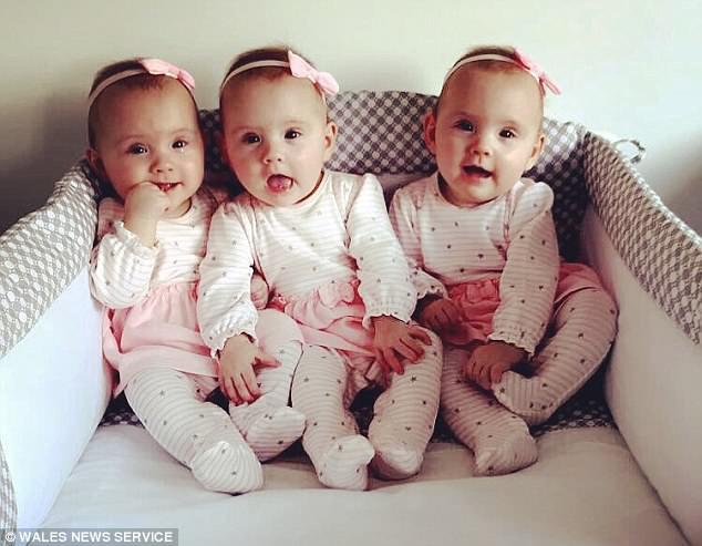 Sinh ba cô con gái giống hệt nhau, bố mẹ phải dùng màu sơn móng để phân biệt - Ảnh 6.