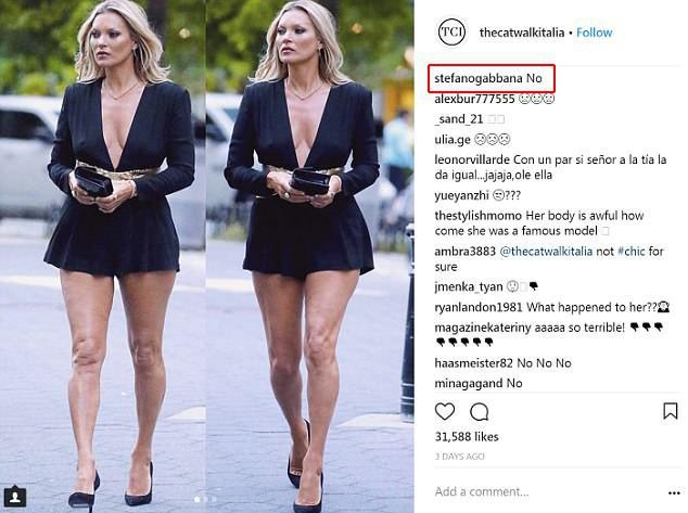 NTK của Dolce&Gabbana tỏ ý chê Kate Moss mặc xấu, giới mộ điệu lập tức chỉ trích: GATO! - Ảnh 3.