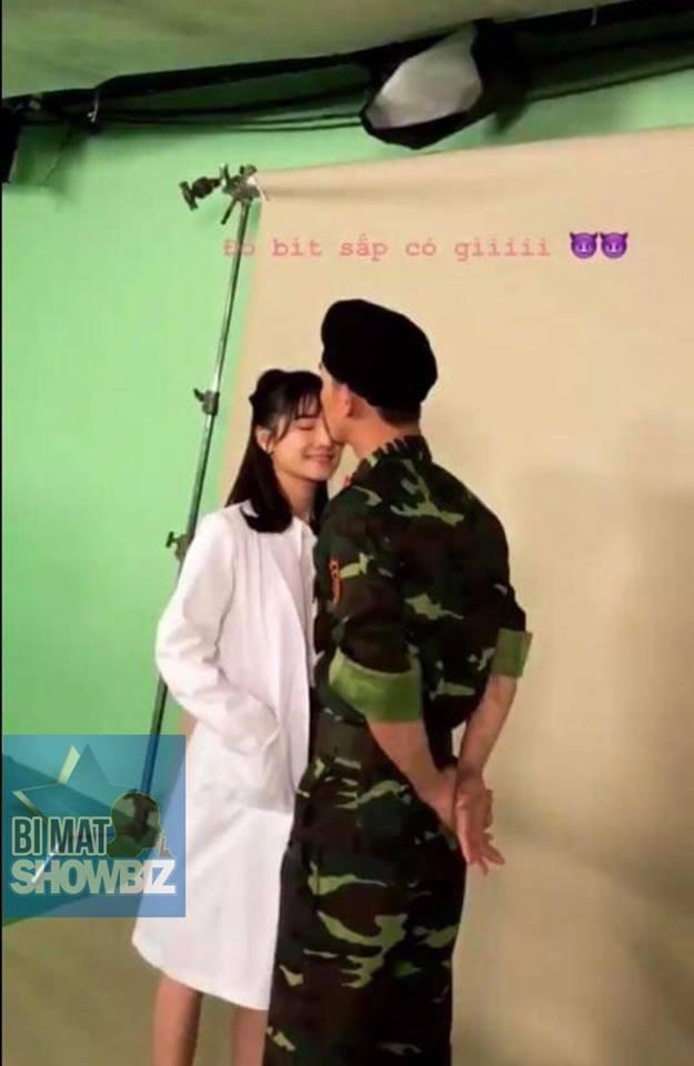 Lộ ảnh hậu trường Nhã Phương chụp poster phim Hậu duệ mặt trời bản Việt - Ảnh 2.