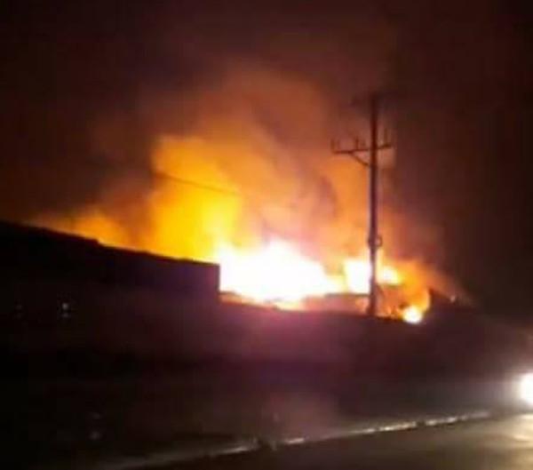 Phú Thọ: Hỏa hoạn lớn tại khu công nghiệp Thụy Vân, hàng trăm người dân sợ hãi - Ảnh 1.