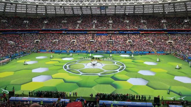 Robbie Williams đốt nóng sân vận động, khai mạc World Cup 2018 - ảnh 5