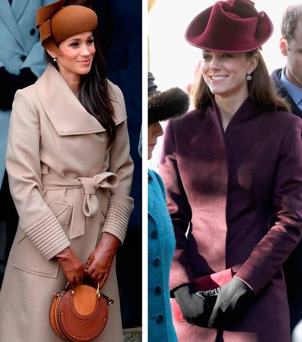 Cùng là công nương Hoàng gia Anh nhưng Kate và Meghan lại có hai style chọn mũ đối lập nhau - Ảnh 6.