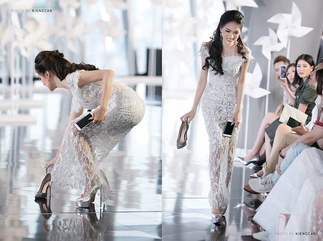 Những pha rớt giày trên sàn catwalk: tuy chẳng ai mong muốn nhưng lại cho tinh thần làm việc đầy chuyên nghiệp của những nàng mẫu này - Ảnh 10.