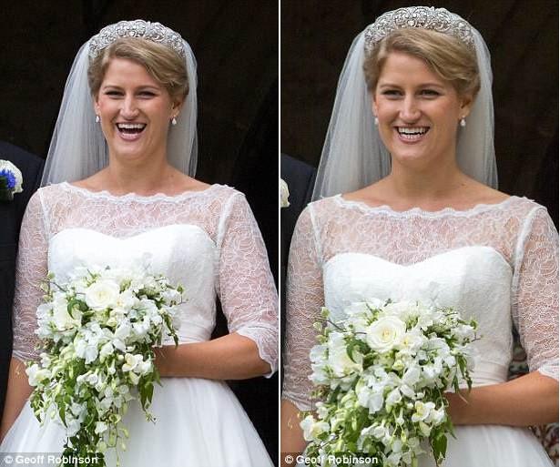 Đám cưới đặc biệt nhất hôm nay: cô dâu đeo vương miện của công nương Diana, Meghan Markle diện váy gần trăm triệu tham dự - Ảnh 2.