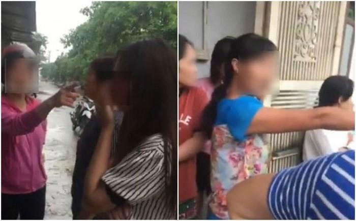 Cô gái trẻ bị lột trần, quỳ gối giữa đường vì dám nhắn tin thách thức vợ nhân tình