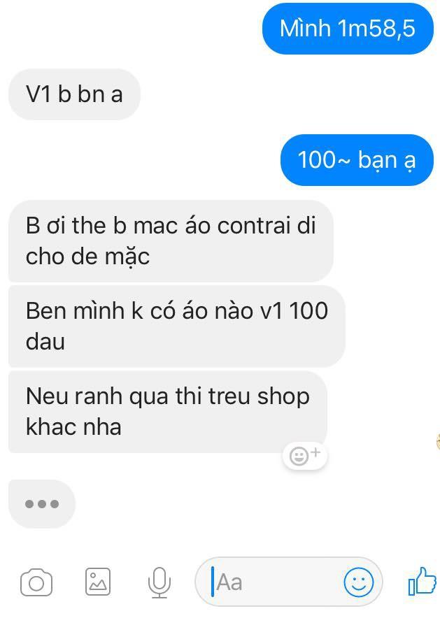 Đắng lòng cô gái ngực khủng bị chủ shop online mắng té tát: Không có áo cho vòng một 100cm, rảnh thì trêu shop khác - Ảnh 3.