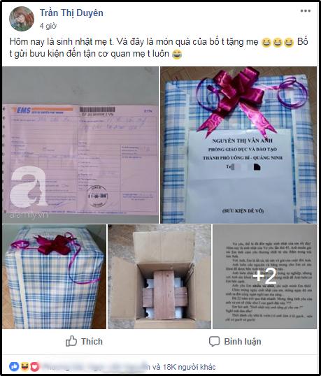 Quà sinh nhật chồng U50 tặng vợ được gói ghém cẩn thận nhưng khi mở ra ai cũng té ngửa, MXH sục sôi - Ảnh 1.