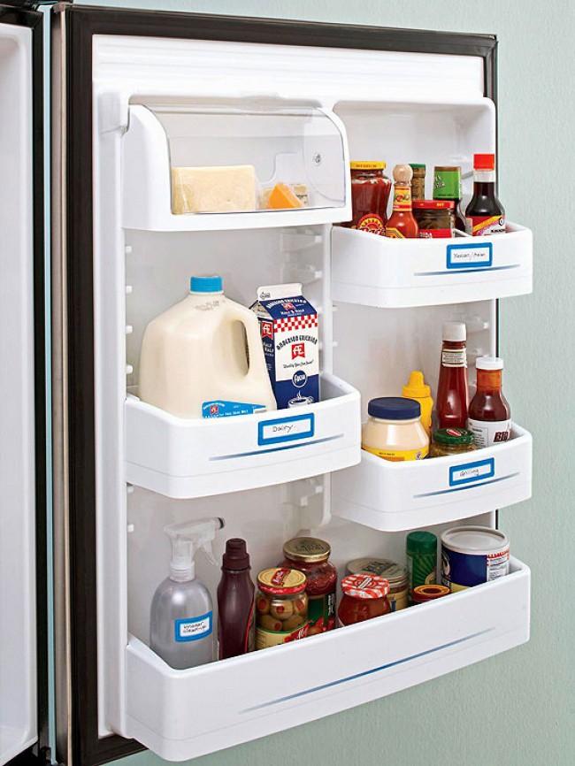Làm sao để tủ lạnh luôn ngăn nắp, việc tưởng đơn giản mà lại vô cùng khó nếu bạn không biết những mẹo này - Ảnh 7.