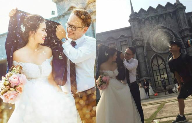 Ngã ngửa với sự thật về cơn mưa tình yêu trong những bức ảnh cưới lãng mạn - Ảnh 3.
