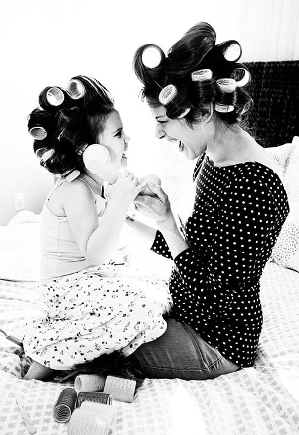 """Chùm ảnh: Những bức ảnh """"mẹ nào con nấy"""" tuyệt đẹp khiến chị em nào xem xong cũng muốn đẻ ngay một nàng công chúa - Ảnh 6."""