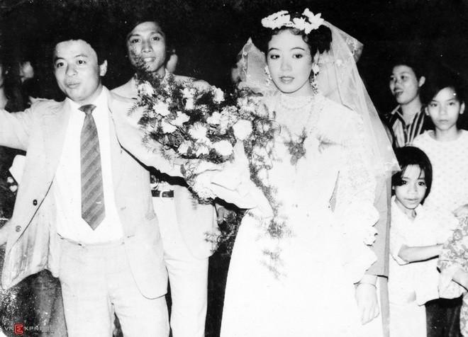 Ngắm loạt ảnh cưới những năm 80 - 90, bạn có nhận ra đây là sao Việt nào? - Ảnh 8.