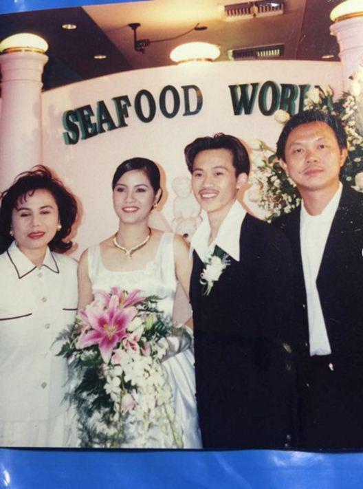 Ngắm loạt ảnh cưới những năm 80 - 90, bạn có nhận ra đây là sao Việt nào? - Ảnh 10.