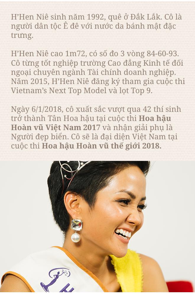 Hoa hậu H'Hen Niê: Không muốn kể khổ, không muốn ai thương hại vì gia cảnh nghèo khó! - Ảnh 15.