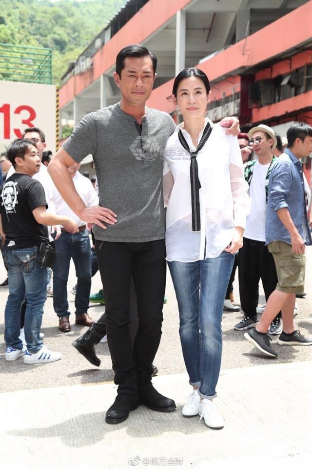 Sau 20 năm, đôi tình nhân màn ảnh Cổ Thiên Lạc - Tuyên Huyên tái ngộ - ảnh 4