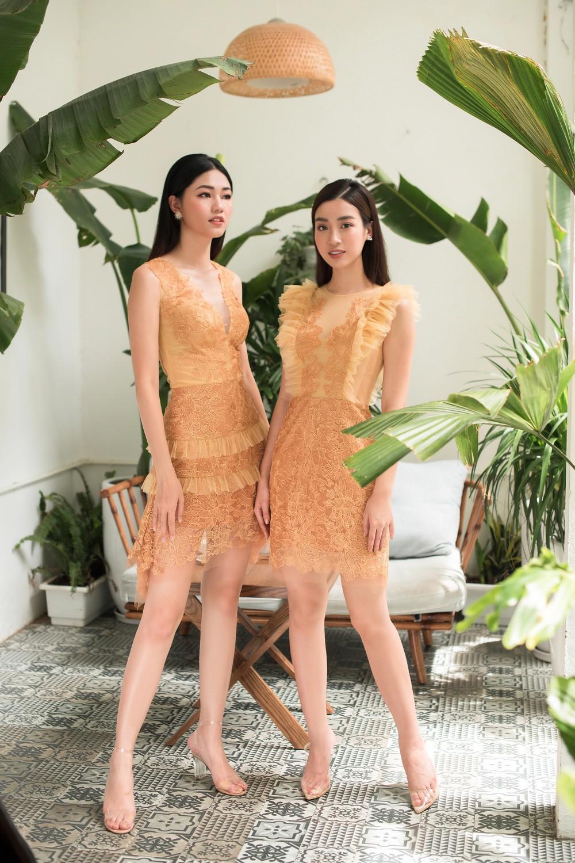 Hoa hậu Mỹ Linh, Á hậu Thanh Tú đốn gục trái tim mọi chàng trai với bộ ảnh ngọt ngào, nữ tính - Ảnh 2.