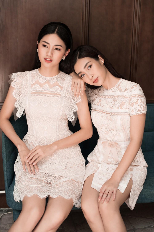 Hoa hậu Mỹ Linh, Á hậu Thanh Tú đốn gục trái tim mọi chàng trai với bộ ảnh ngọt ngào, nữ tính - Ảnh 14.