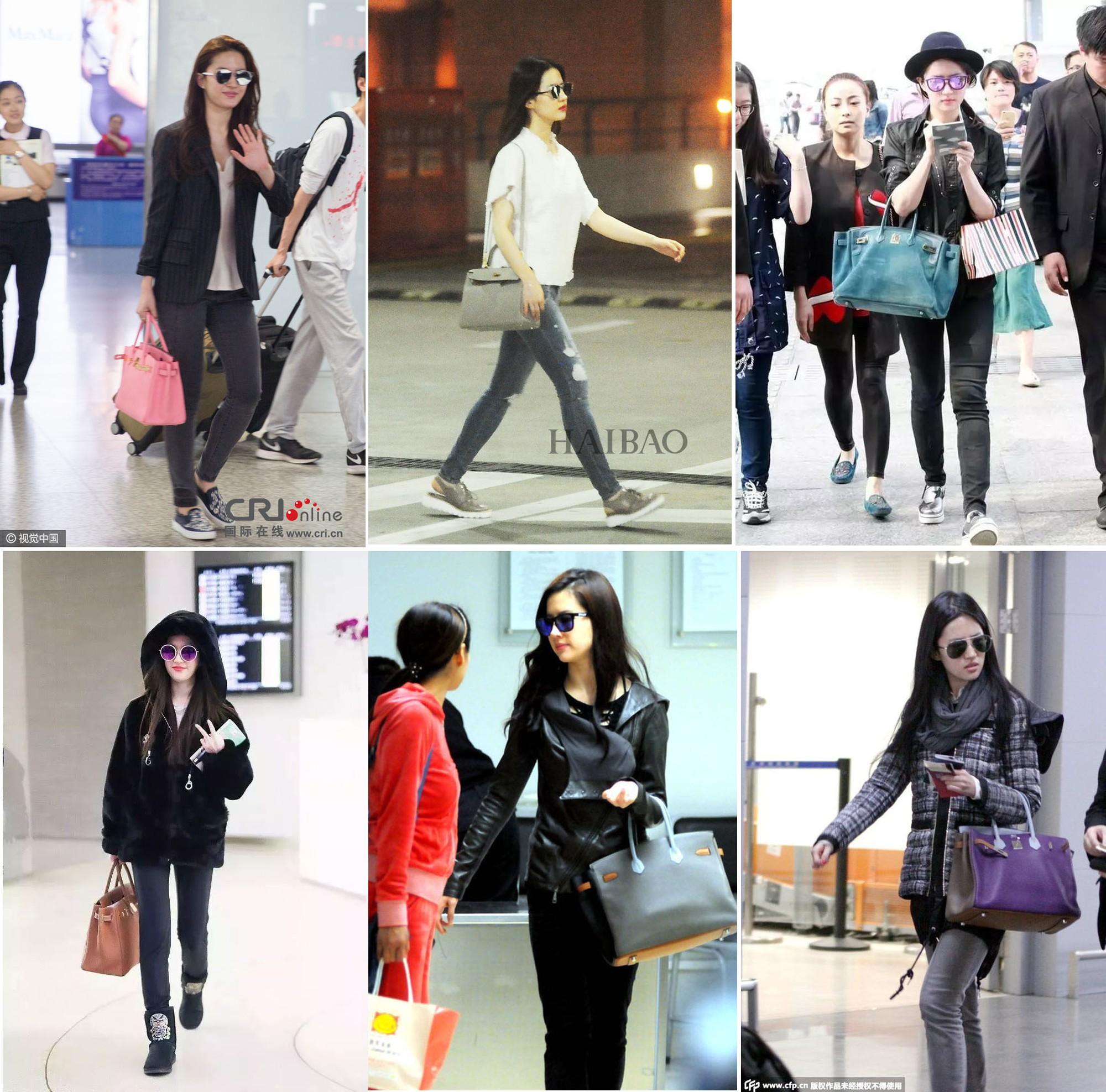 Lưu Diệc Phi diện đồ đen kín mít ra sân bay, nhưng khi bóc giá trang phục của cô thì ai cũng choáng - Ảnh 7.