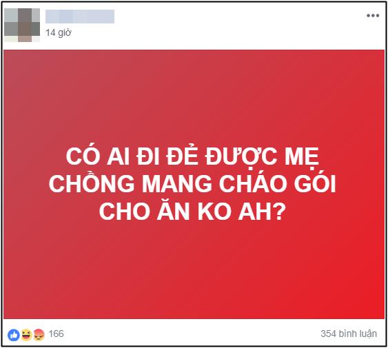 Hoi co ai di de duoc me chong mang chao goi cho an khong, nang dau nhan ve cau tra loi bat ngo tu MXH