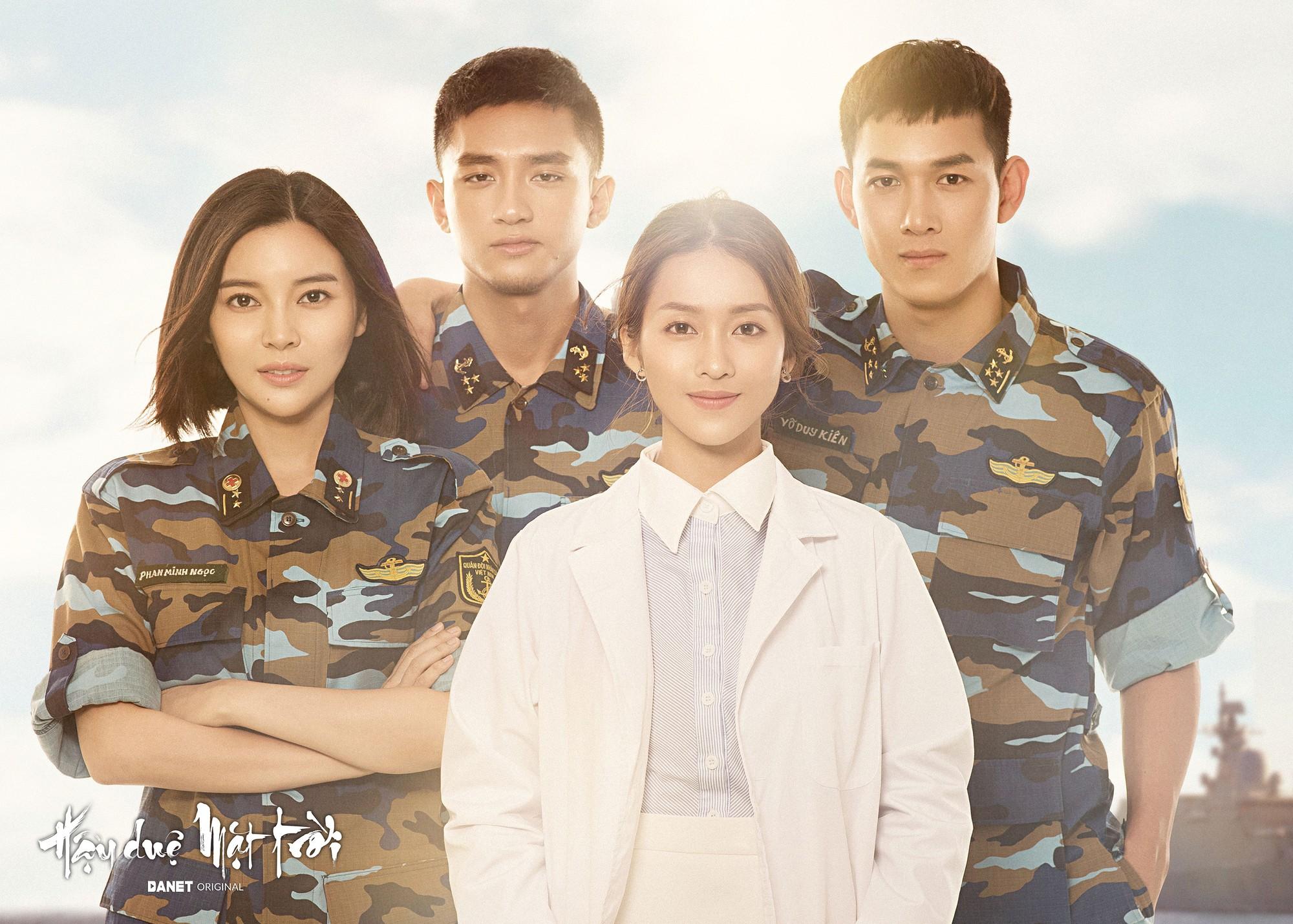 Nữ phụ Hậu duệ Mặt trời Cao Thái Hà: Tôi được mời cast vai bác sĩ chứ không phải trung úy  - Ảnh 1.