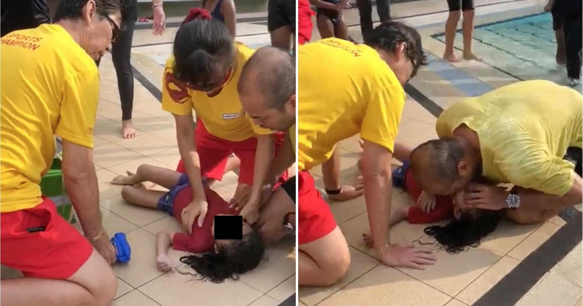 Thêm 1 vụ đuối nước xảy ra ngay tại bể bơi khi cậu bé 5 tuổi đi bơi cùng bố - Ảnh 1.