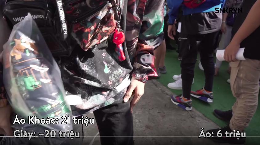 Clip: Xem giới trẻ Việt tự bóc set đồ của mình tại Sneaker Fest 2018 mà choáng, có bộ lên đến cả trăm triệu đồng! - Ảnh 4.