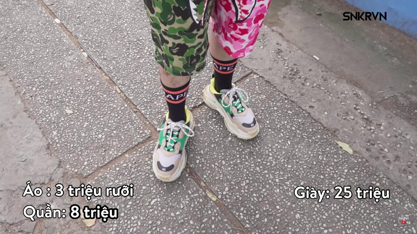 Clip: Xem giới trẻ Việt tự bóc set đồ của mình tại Sneaker Fest 2018 mà choáng, có bộ lên đến cả trăm triệu đồng! - Ảnh 15.