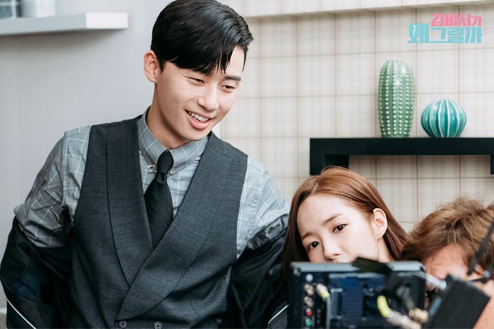 Hậu trường Thư Ký Kim: Quá bất ngờ với thứ đựng trong hộp quà Park Seo Joon mang ra đảo - Ảnh 18.