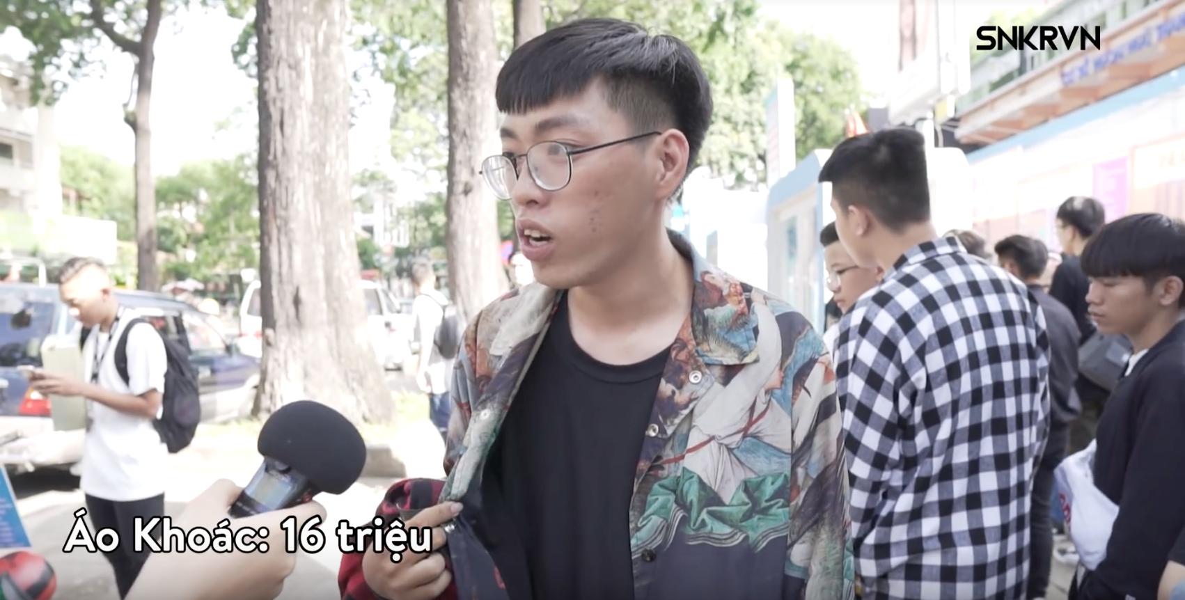 Clip: Xem giới trẻ Việt tự bóc set đồ của mình tại Sneaker Fest 2018 mà choáng, có bộ lên đến cả trăm triệu đồng! - Ảnh 5.