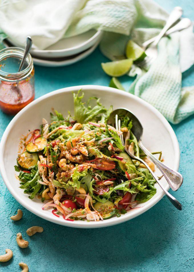 Salad gà làm kiểu này ai ăn cũng phải khen nức nở - Ảnh 6.