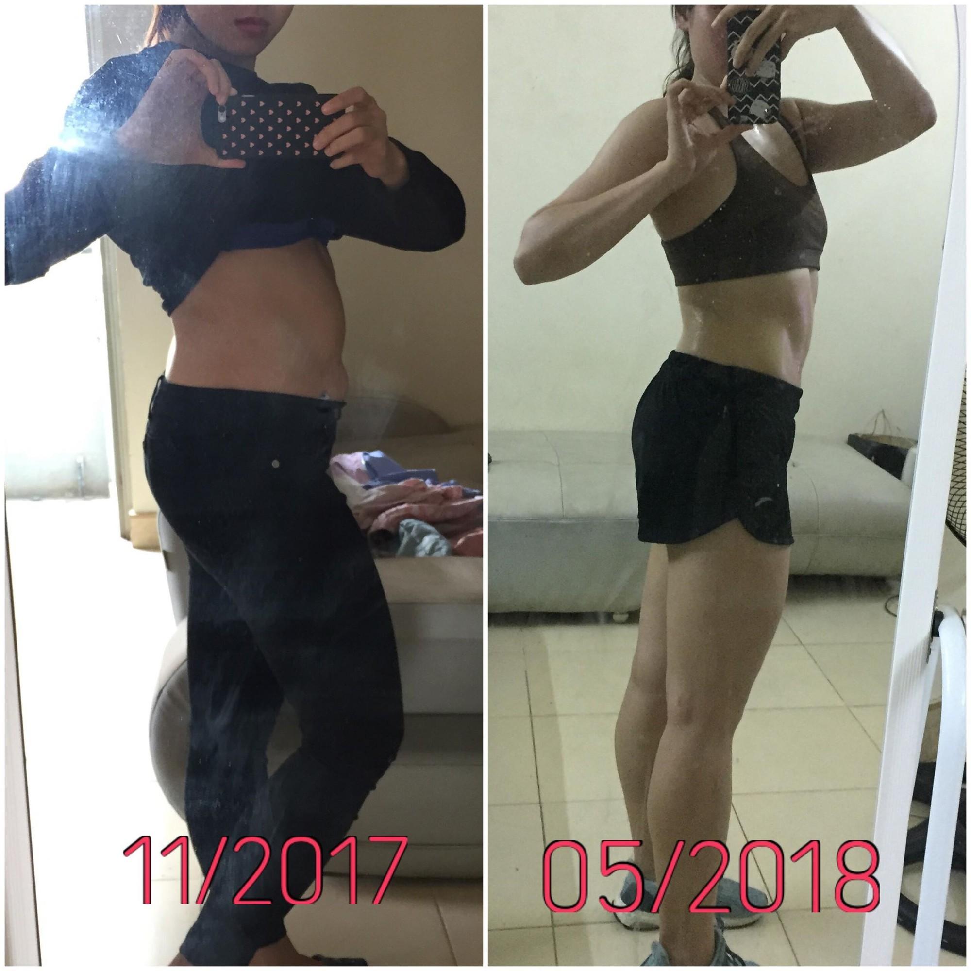 Tự ti vì thân hình mũm mĩm, cô gái trẻ quyết tâm giảm mỡ tăng cơ, chữa khỏi bệnh và còn trở thành HLV fitness - Ảnh 6.