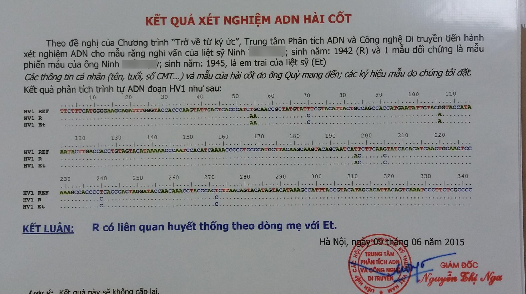 Bi kịch trao nhầm con ở bệnh viện và những câu chuyện cười ra nước mắt ở trung tâm phân tích ADN - Ảnh 6.
