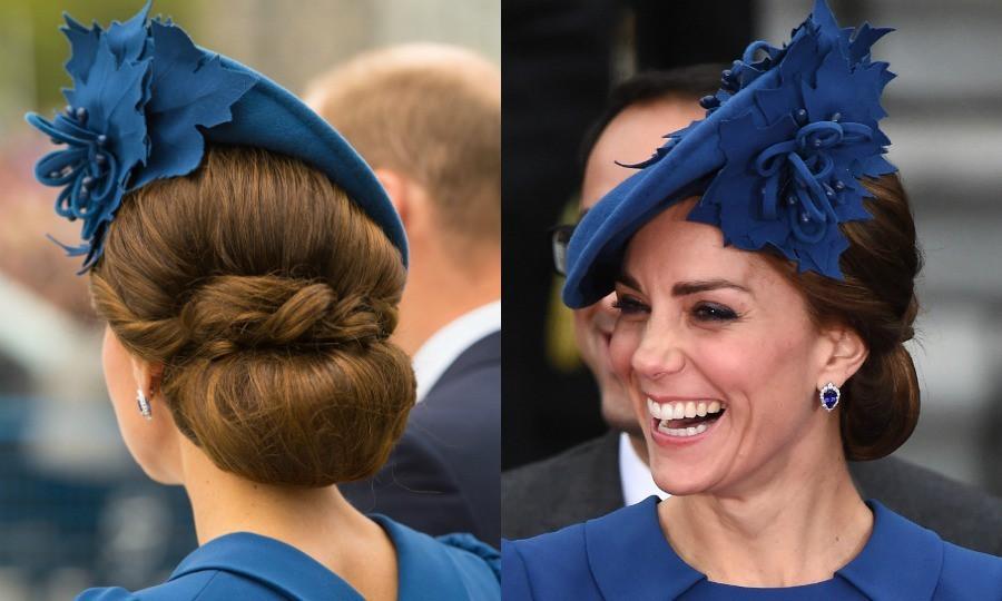 Chỉ một chi tiết vô cùng nhỏ trên mái tóc thôi cũng đủ thấy Công nương Kate tinh ý đến mức nào - Ảnh 6.