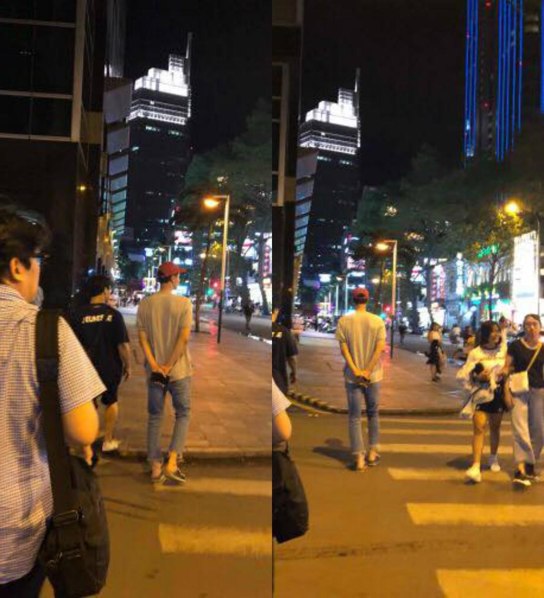Tài tử Jo In Sung dạo phố Việt Nam: Đi dép lào, dáng đứng bến tre nhưng vẫn khiến fan vỡ tim vì ngoại hình - Ảnh 1.
