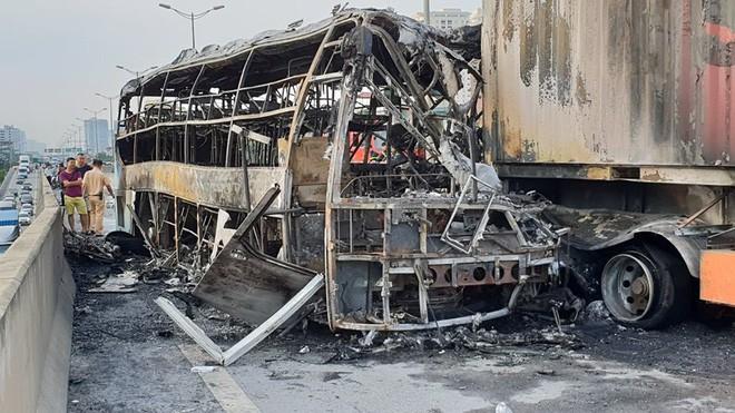 Hoàn cảnh khó khăn của thai phụ 6 tháng tử vong trong vụ cháy xe khách trên đường vành đai ở Hà Nội - Ảnh 1.