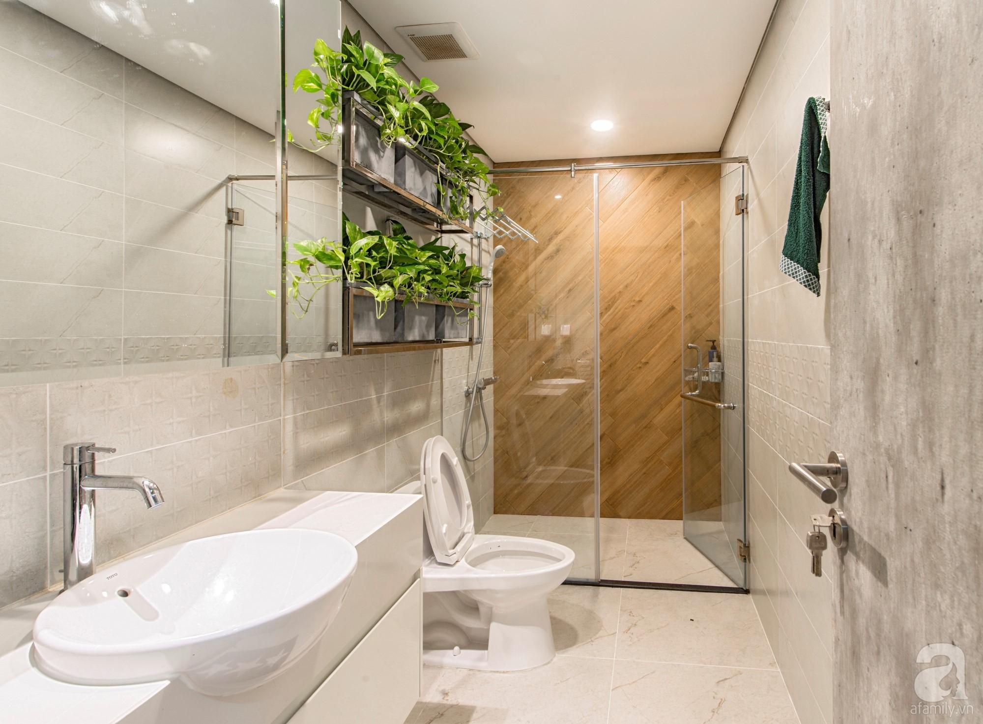 Căn hộ 80m² trên tầng 21 đẹp độc đáo với chi phí cải tạo 780 triệu đồng của chủ nhà yêu cây xanh - Ảnh 19.