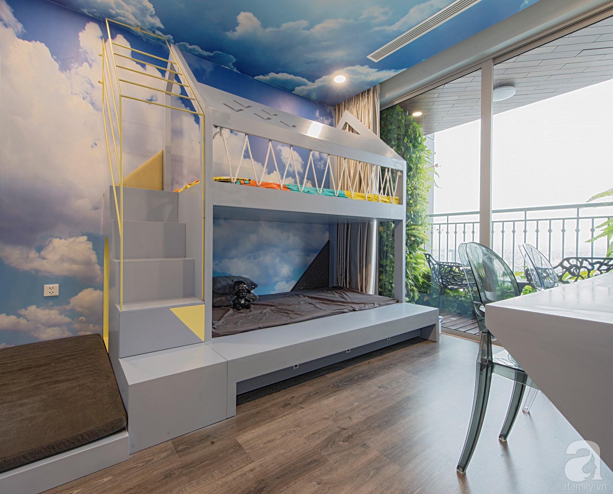 Căn hộ 80m² trên tầng 21 đẹp độc đáo với chi phí cải tạo 780 triệu đồng của chủ nhà yêu cây xanh - Ảnh 18.