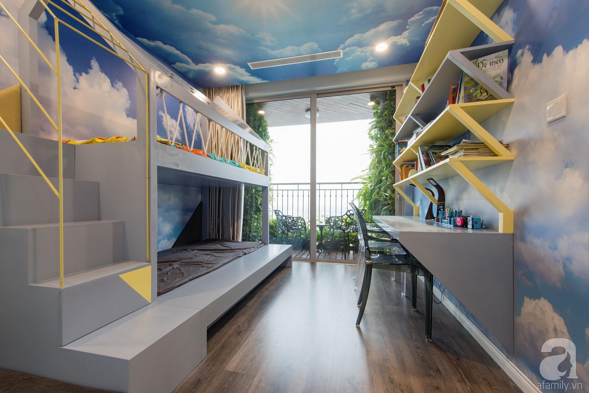 Căn hộ 80m² trên tầng 21 đẹp độc đáo với chi phí cải tạo 780 triệu đồng của chủ nhà yêu cây xanh - Ảnh 17.