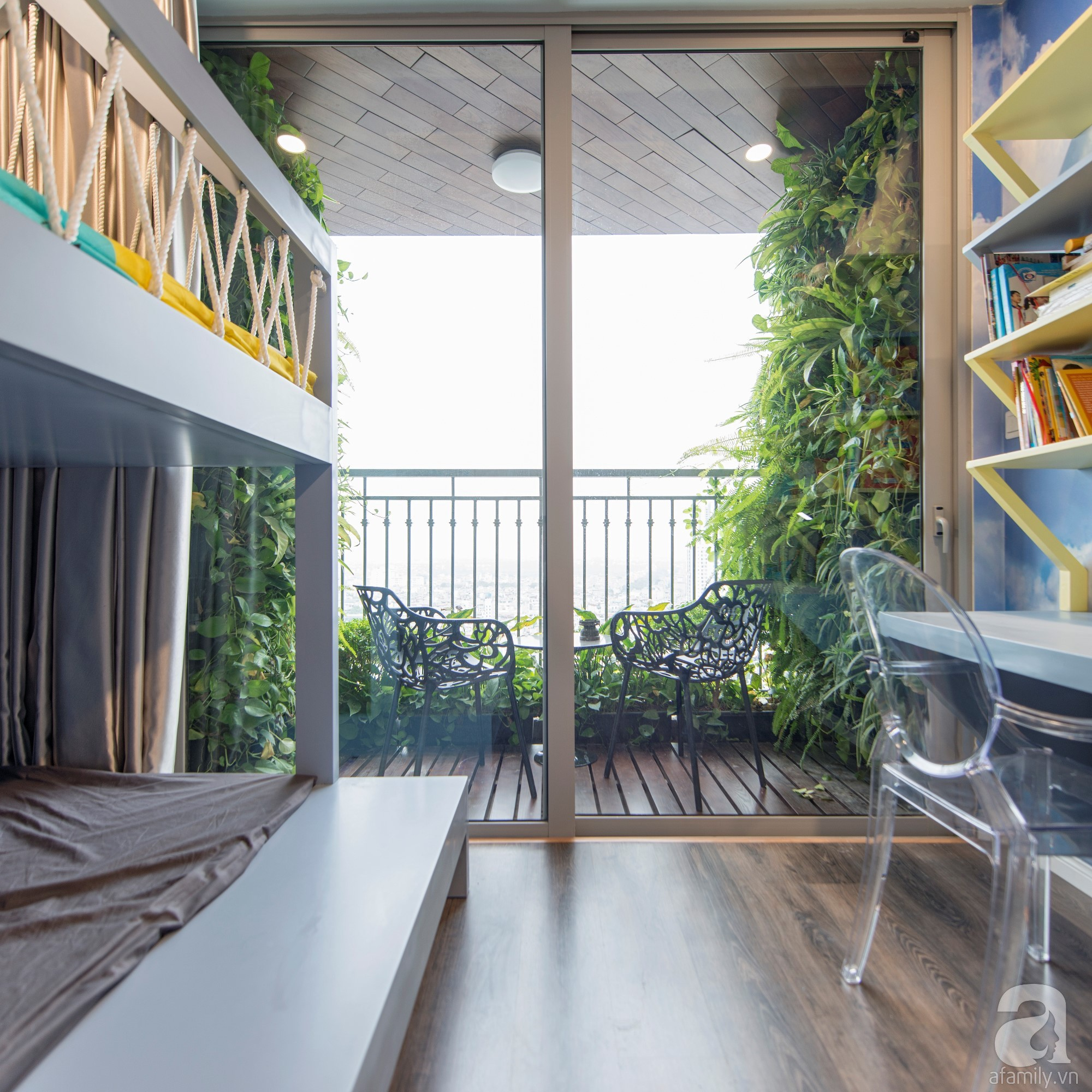 Căn hộ 80m² trên tầng 21 đẹp độc đáo với chi phí cải tạo 780 triệu đồng của chủ nhà yêu cây xanh - Ảnh 16.