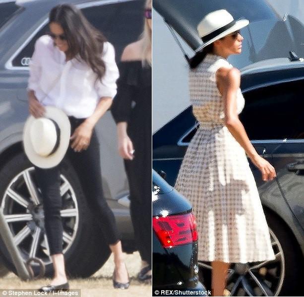 Meghan Markle lại bị chỉ trích khi tiền trang phục trong 2 tháng của cô còn nhiều hơn tủ quần áo cả năm của Kate Middleton - Ảnh 8.